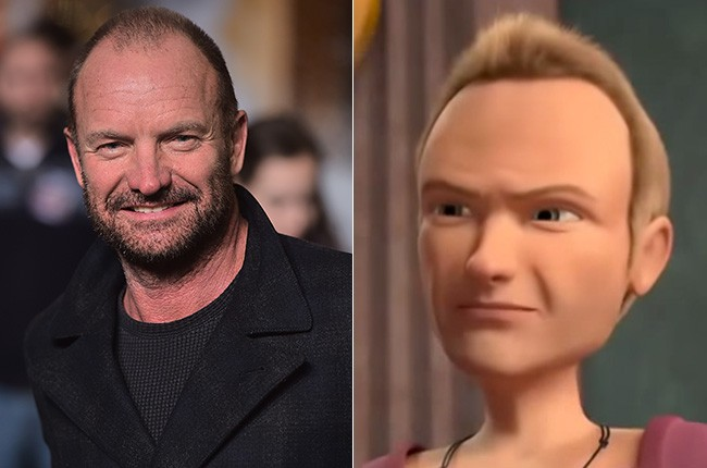 Sting in Bee Movie