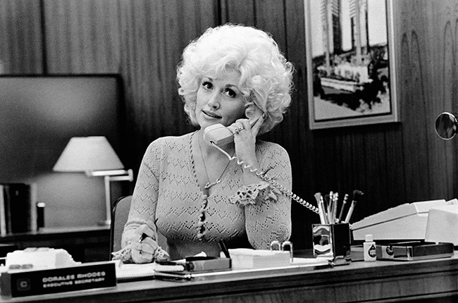Dolly Parton in 9 to 5 (1980)
