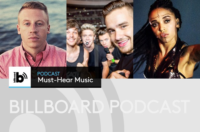 new music from Macklemore, One Direction, FKA Twigs