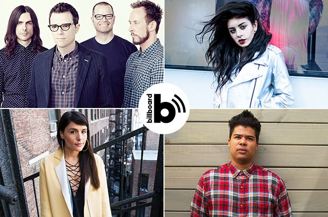 Must Hear Music Podcast featuring Weezer, Charli XCX, Jessie Ware & Makonnen