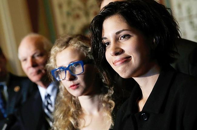 Nadya Tolokonnikova and Maria Alyokhina of Pussy Riot