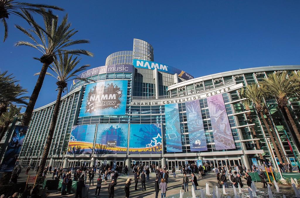 NAMM Show at the Anaheim Convention Center.