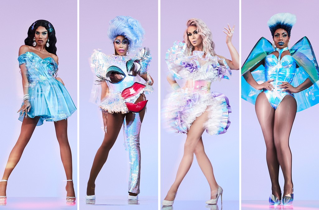 Naomi Smalls, Monique Heart, Trinity Taylor and Monet X Change