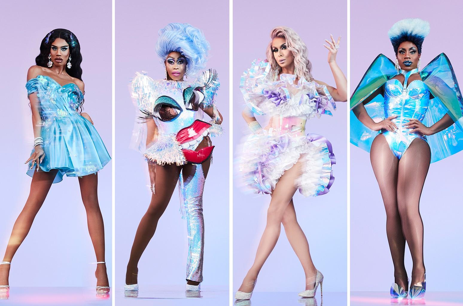 Naomi Smalls, Monique Heart, Trinity Taylor and Monet X Change
