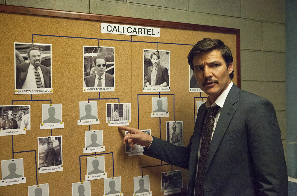 Pedro Pascal as Javier Peña in Narcos