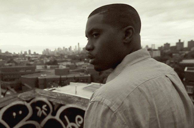 "Nas in ""Time is Illmatic,"" directed by One9"