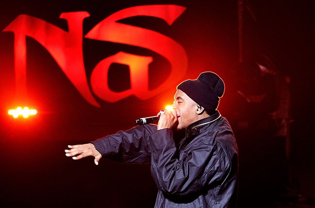 Nas performs at the 2014 Tribeca Film Festival Kick Off