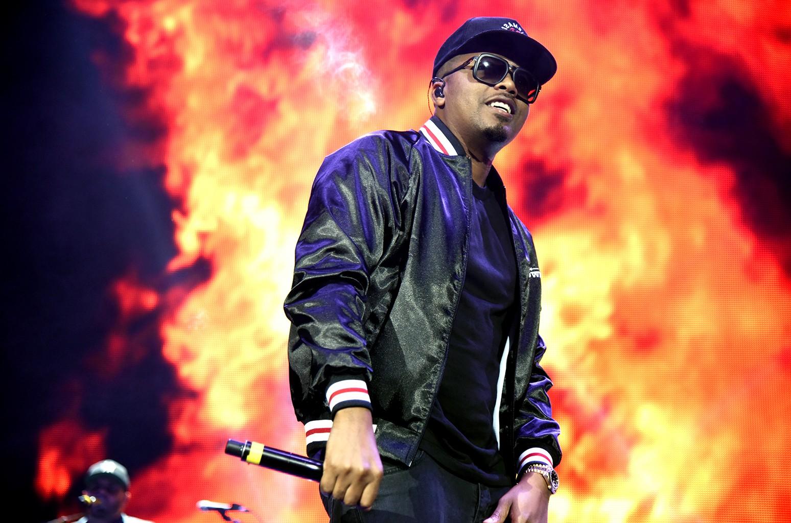 Nas performs at Bill Graham Civic Auditorium on Noc. 3, 2016 in San Francisco.
