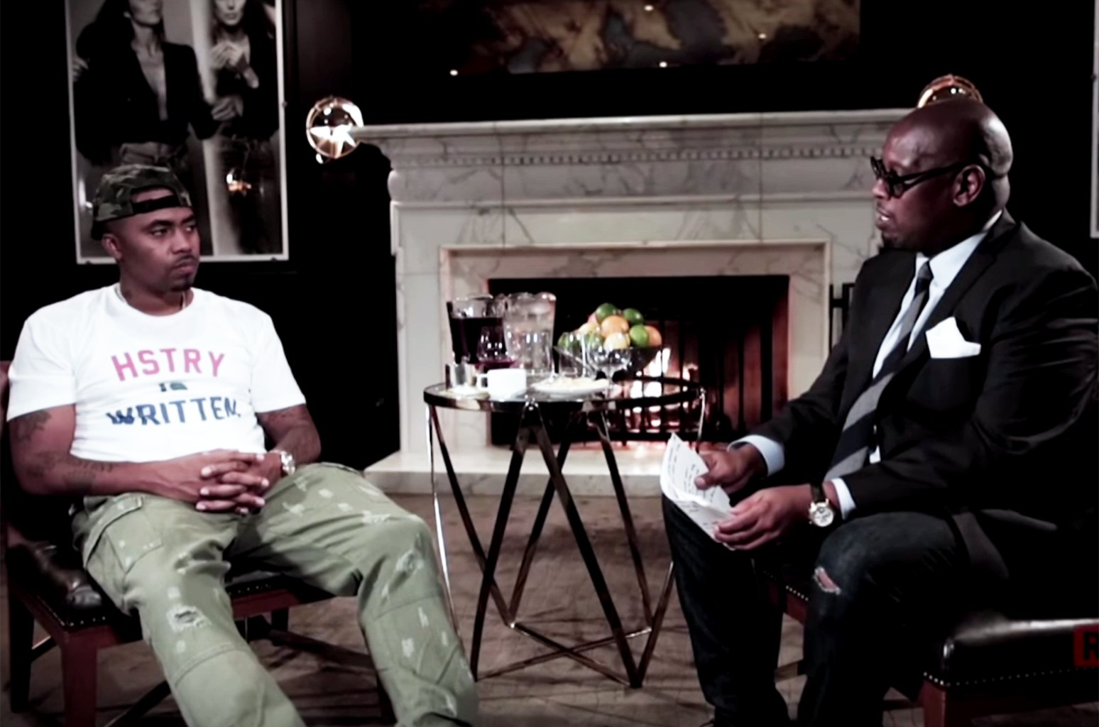 Nas during an interview with Revolt TV.
