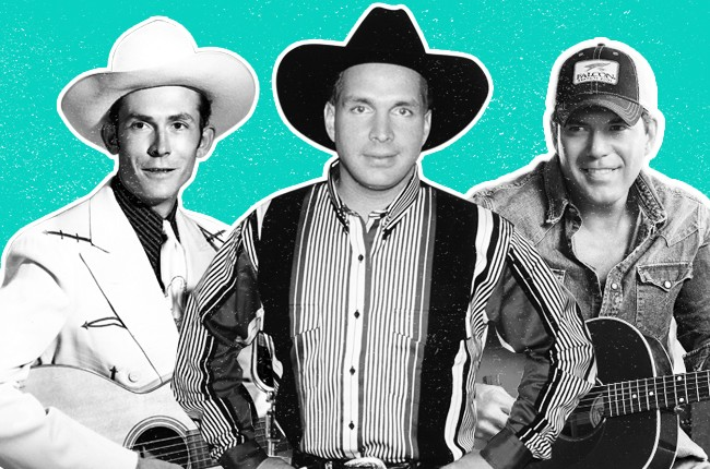Nashville Accents: Then & New featuring Hank Williams, Garth Brooks and Rodney Atkins.