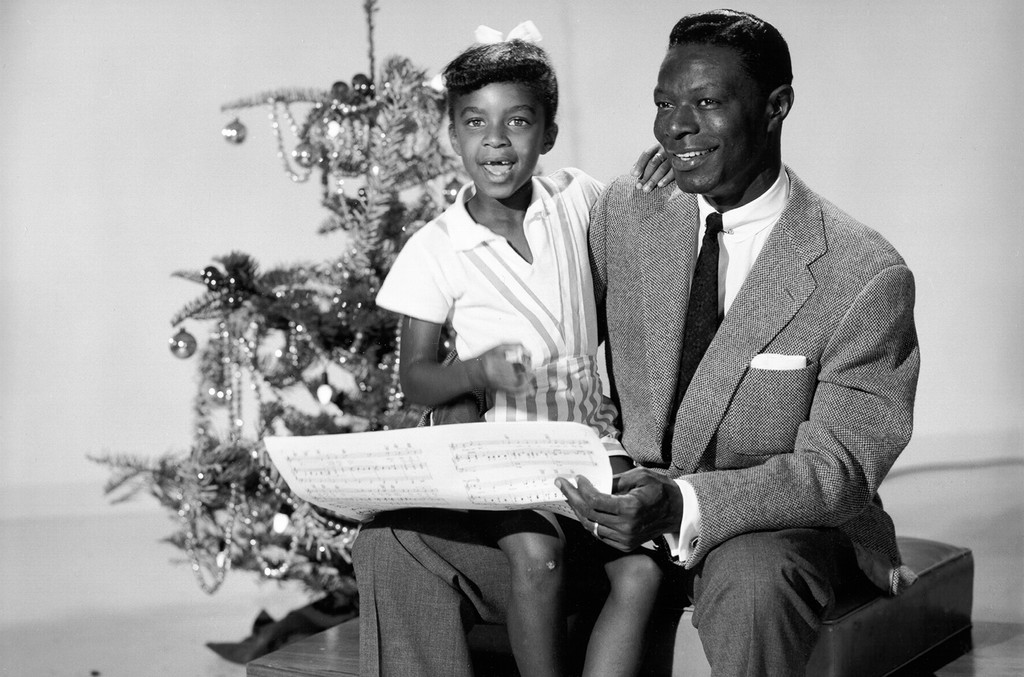 Nat King Cole and Natalie Cole