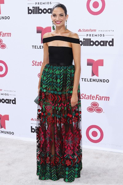 Natalia Jimenez arrives at 2015 Billboard Latin Music Awards