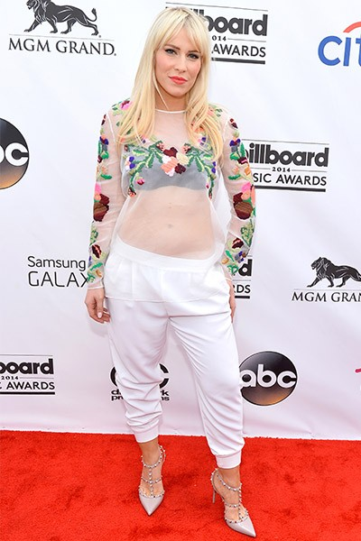 Natasha Bedingfield on the red carpet at the 2014 Billboard Music Awards