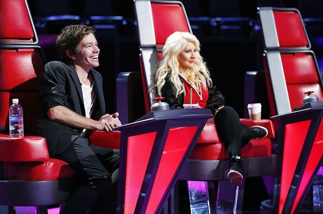 Nate Ruess and Christina Aguilera