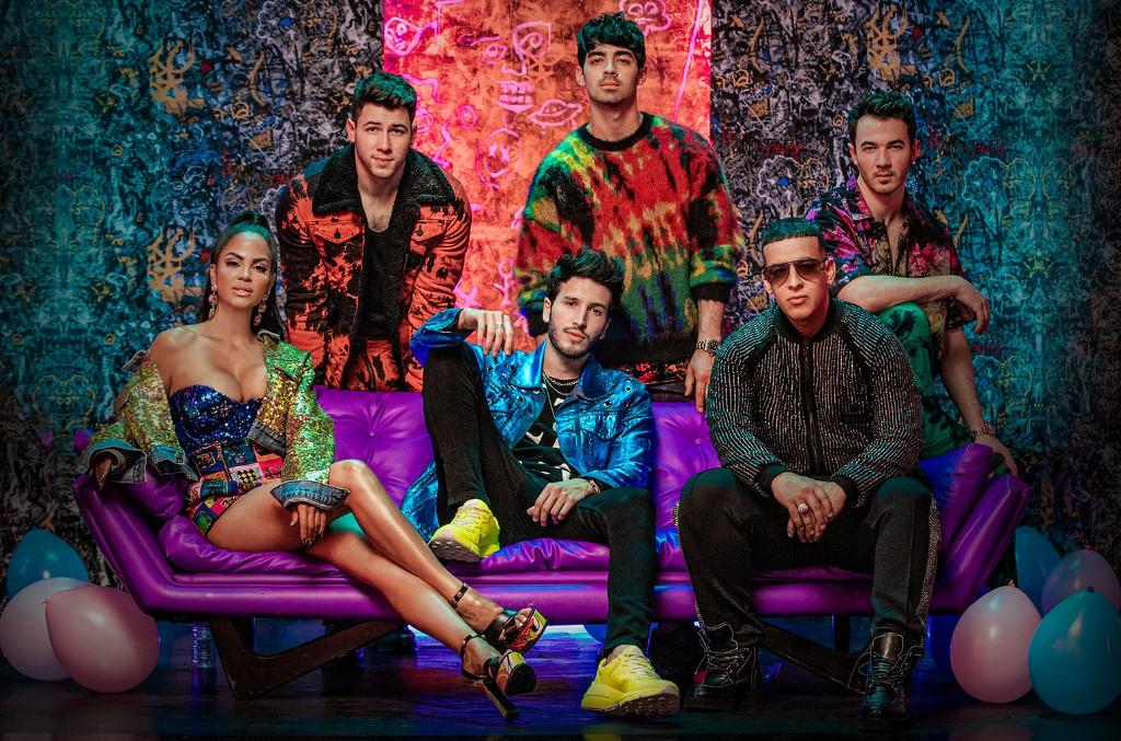 Jonas Brothers, Natti Natasha, Sebastian Yatra and Daddy Yankee