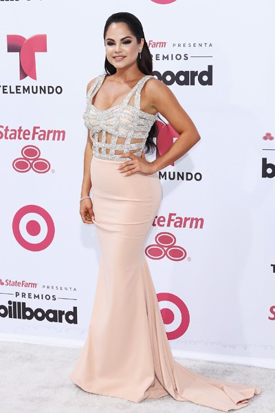 Natti Natasha arrives at 2015 Billboard Latin Music Awards