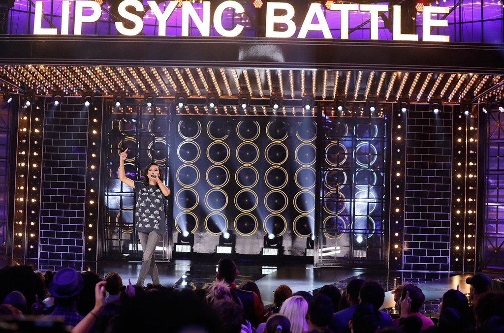 Naya Rivera Lip Sync Battle