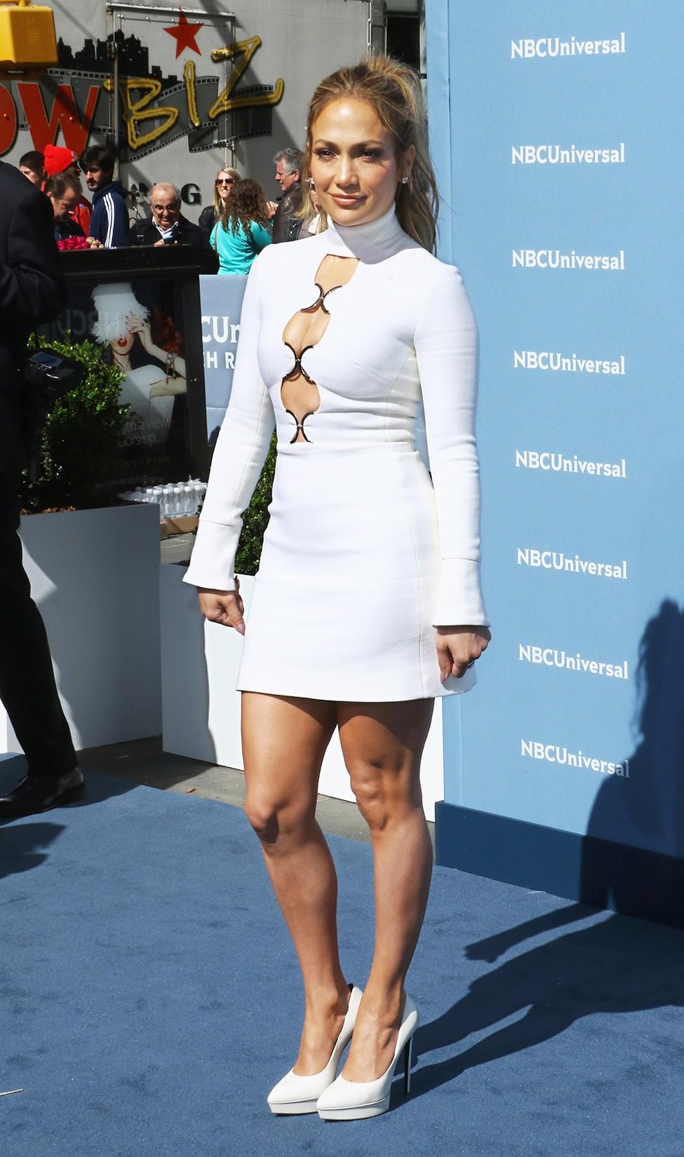 Jennifer Lopez attends the 2016 NBCUniversal Upfront