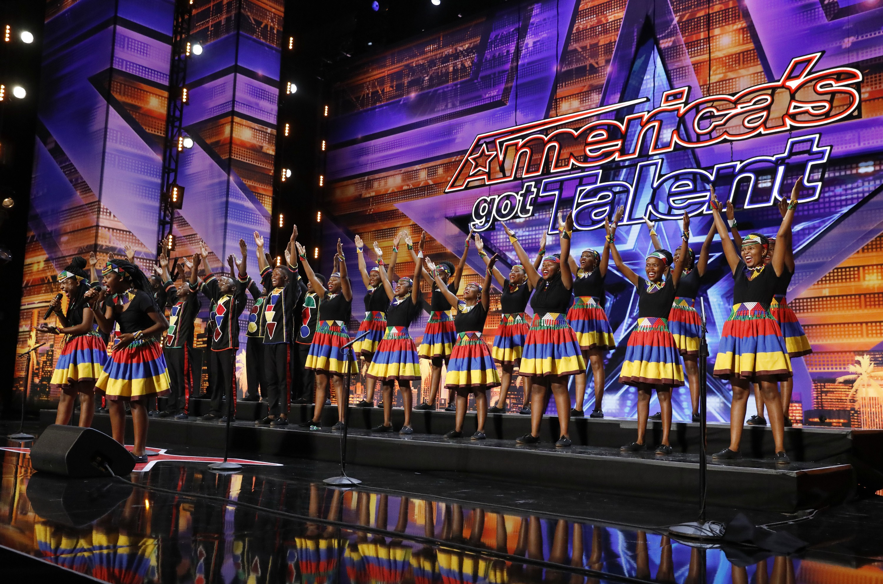 Ndlovu Youth Choir on 'America's Got Talent'