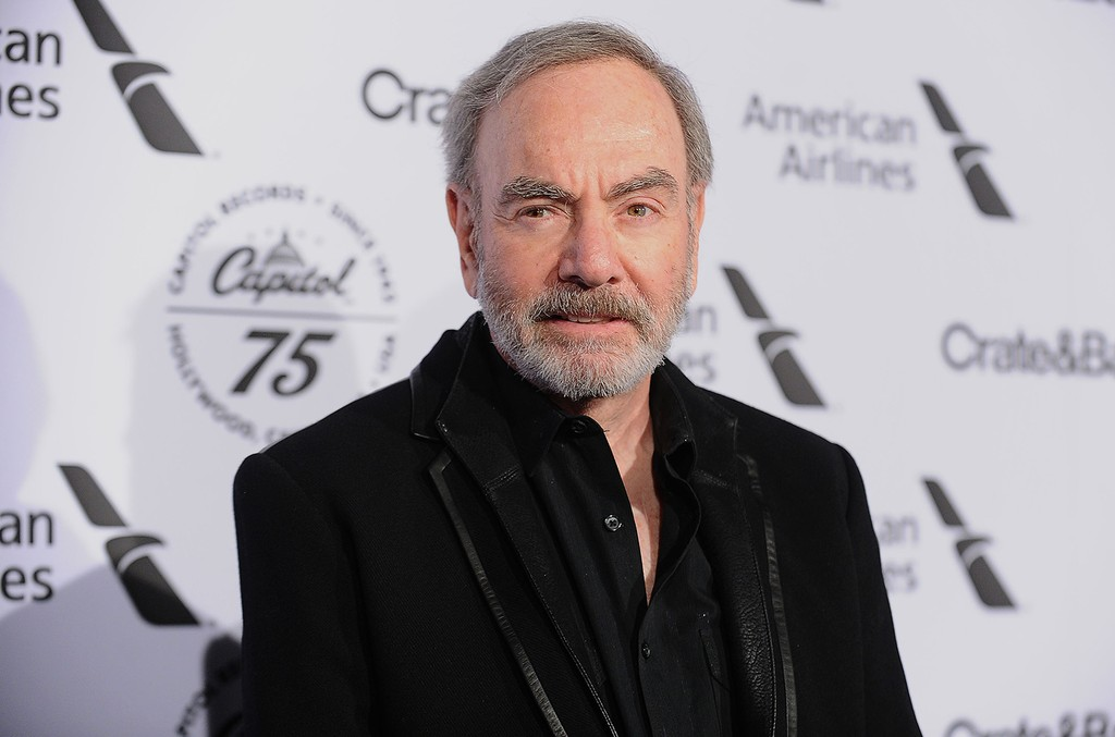 Neil Diamond attends the Capitol Records 75th anniversary gala at Capitol Records Tower on November 15, 2016 in Los Angeles