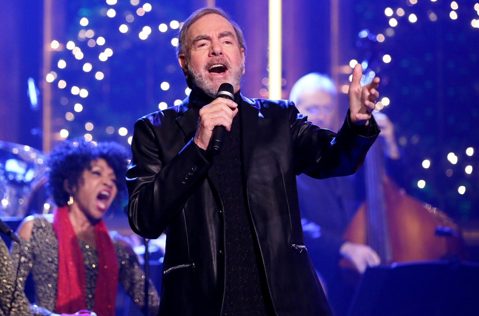 Neil Diamond performs in 2016
