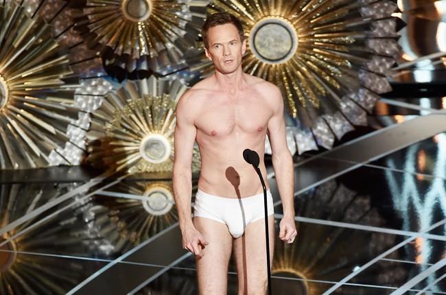 Neil Patrick Harris Underwear Oscars 2015