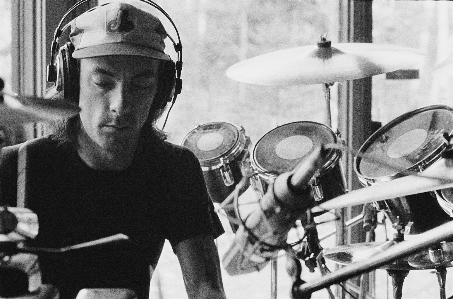 Drummer Neil Peart from Rush