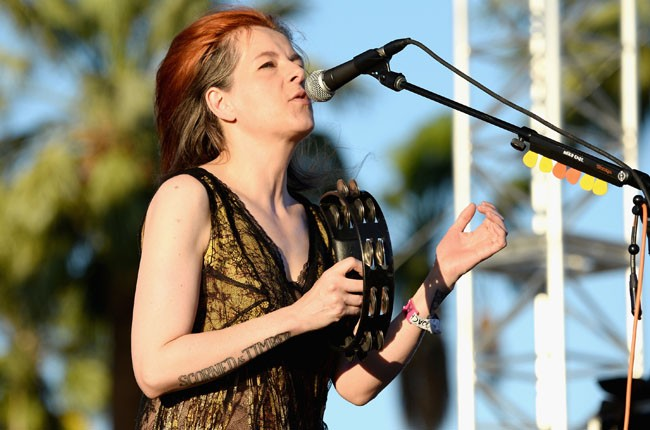 Neko Case performs onstage during day 1 of 2014 Coachella