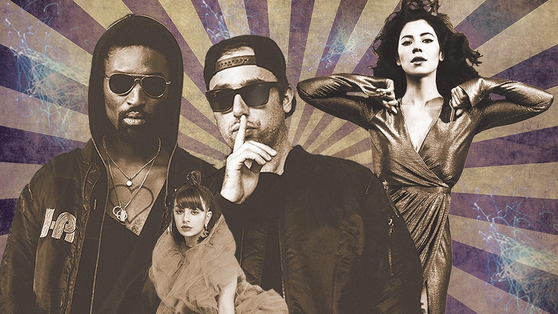 The Knocks, Charli XCX and Marina and the Diamonds