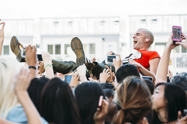 Neon Trees at iHeartRadio 2014