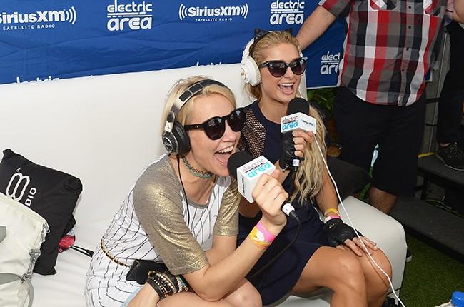 NERVO and Paris Hilton