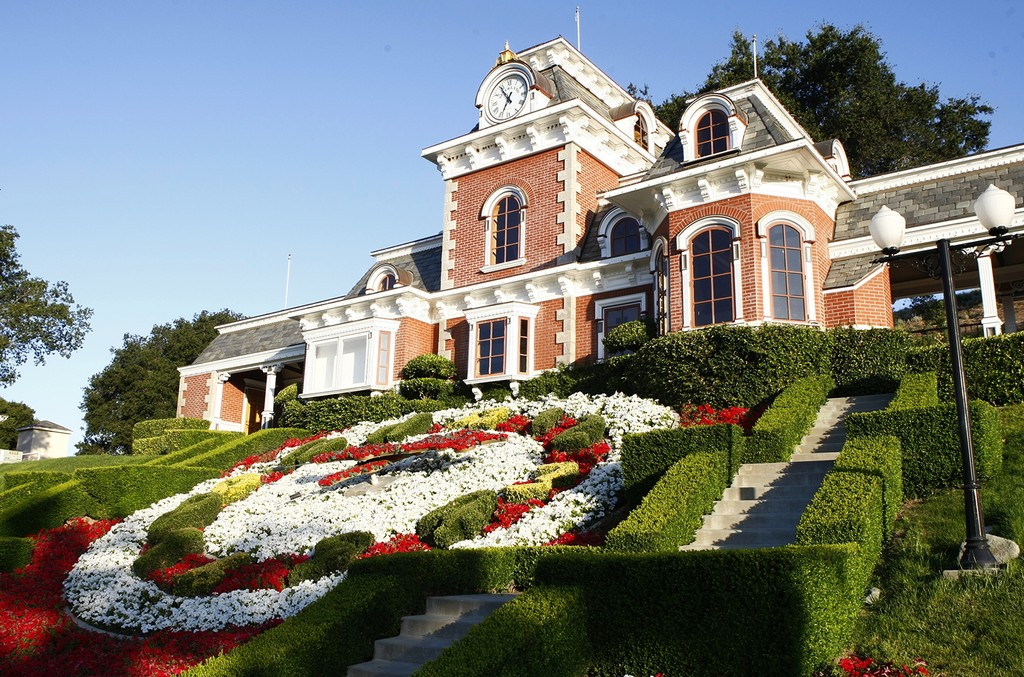 Michael Jackson's Neverland Ranch.