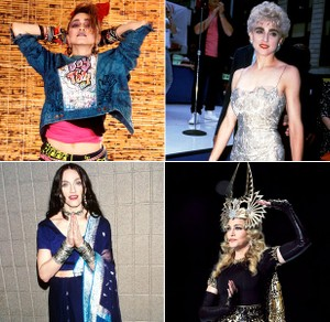 Madonna S Most Iconic Looks Throughout The Years Billboard