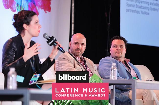 Billboard Latin conference 2016 new music curators