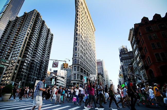 New York City's Flatiron Building