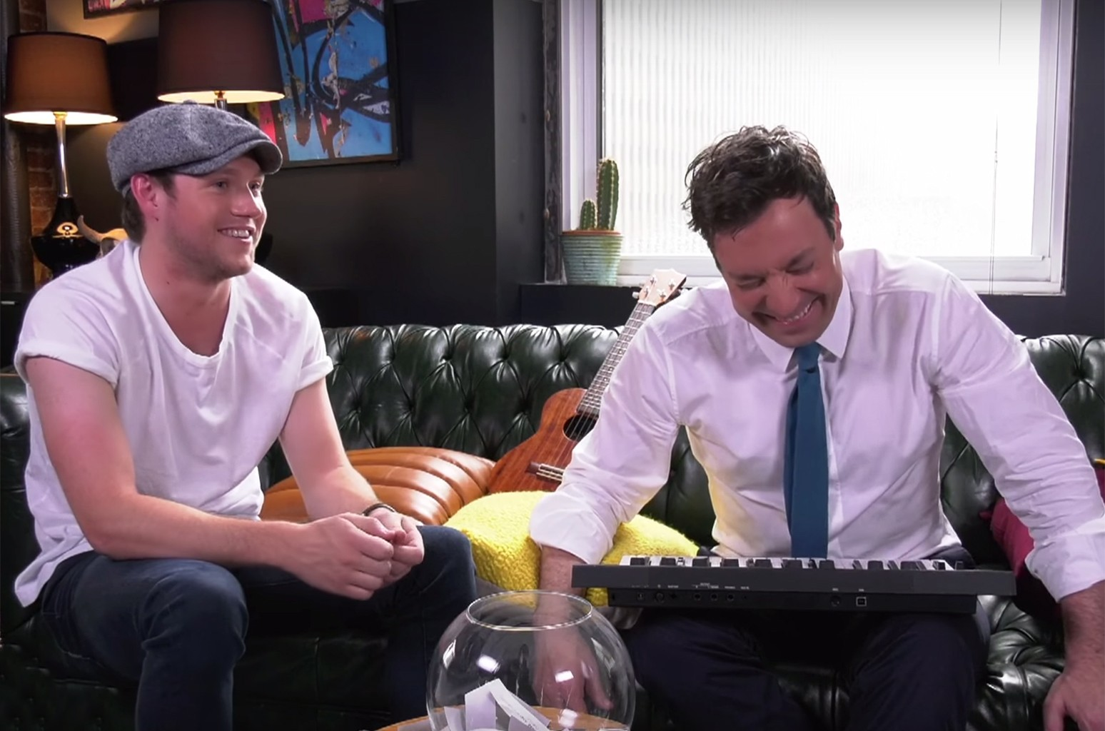 Niall Horan and Jimmy Fallon play the Instant Song Challenge on The Tonight Show Starring Jimmy Fallon