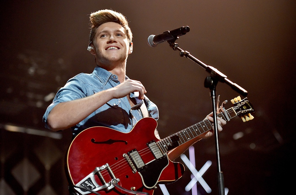Niall Horan performs in 2016