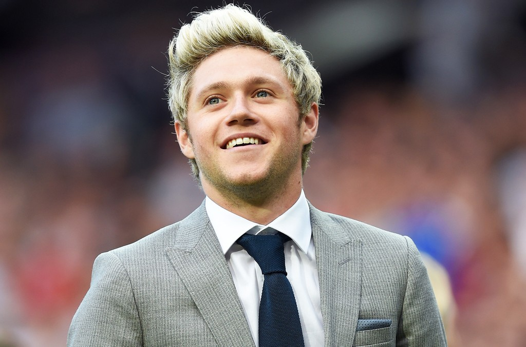 Niall Horan attends Soccer Aid 2016
