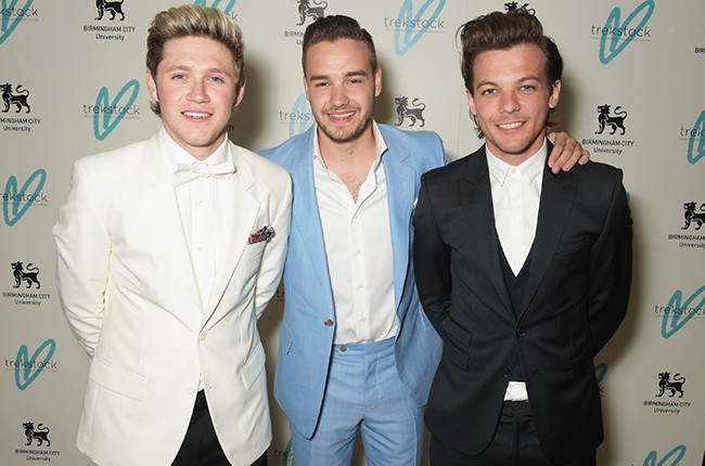 Niall Horan, Liam Payne and Louis Tomlinson