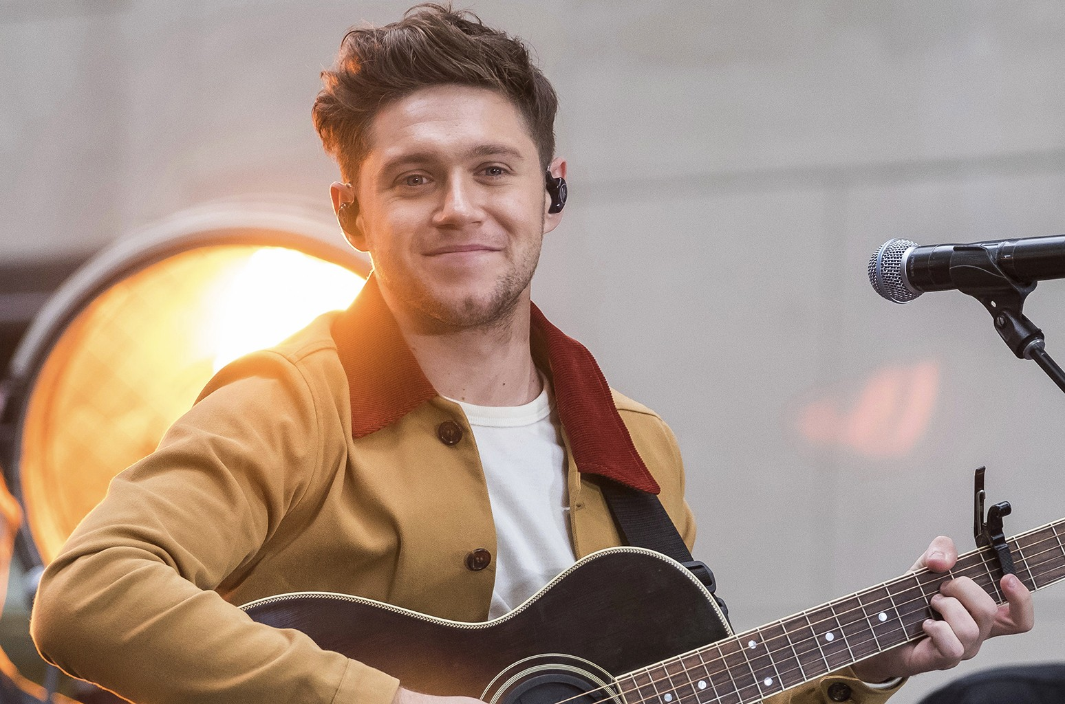 Niall Horan on the Today Show