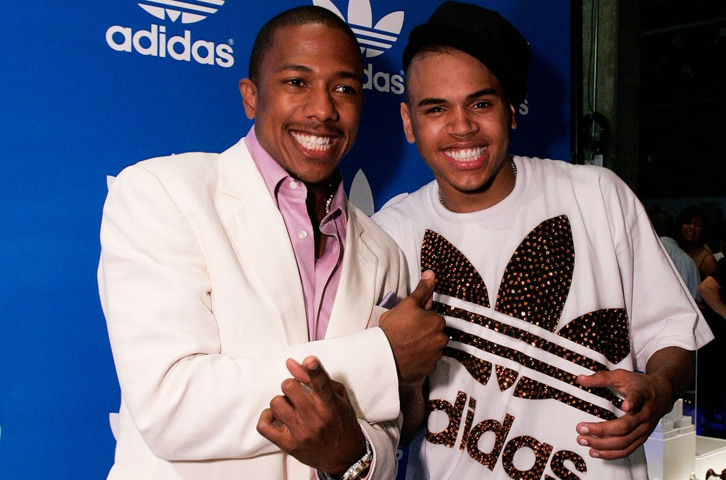 Nick Cannon and Chris Brown