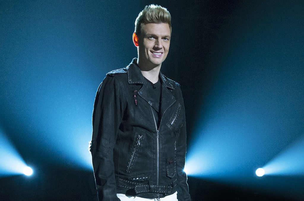 Nick Carter on ABC's Boy Band.