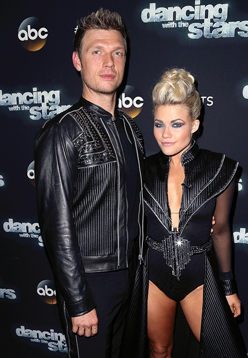 """Nick Carter and Witney Carson attend """"Dancing with the Stars"""" Season 21 event"""