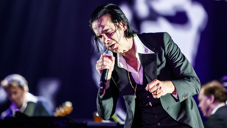 <p>Nick Cave and the Bad Seeds perform in concert during day 2 of the Primavera Sound Festival on May 31, 2018 in Barcelona, Spain. &nbsp&#x3B;</p>