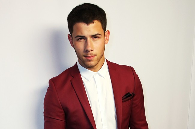 Nick Jonas attends the 2014 Young Hollywood Awards