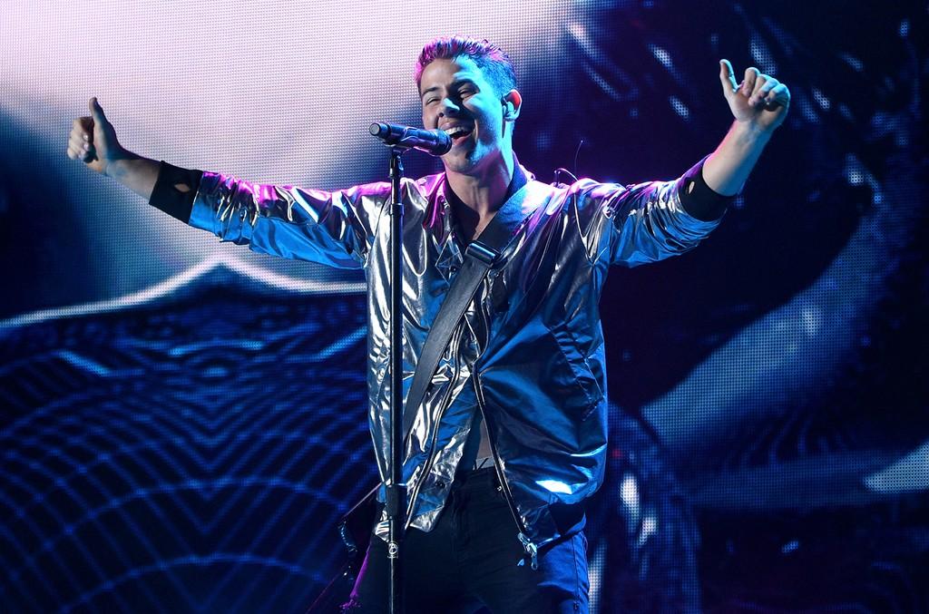 Nick Jonas performsin 2015