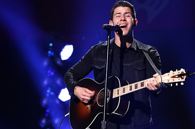 Nick Jonas Jingle Ball