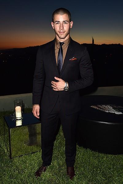 Nick Jonas Men of Style