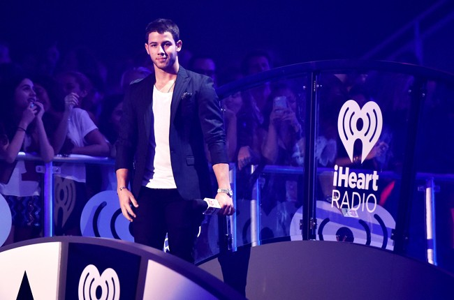 Nick Jonas at iHeartRadio 2014