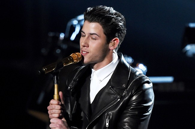 Nick Jonas performs onstage during the 50th Academy Of Country Music Awards